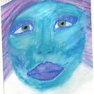 Blue Lady by weirdartist
