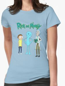meeseek, Rick and morty  Womens Fitted T-Shirt