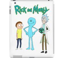 meeseek, Rick and morty  iPad Case/Skin
