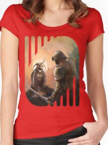 Gladiator Women's Fitted Scoop T-Shirt