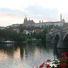 Manesuv Bridge to Prague castle by Ilan Cohen