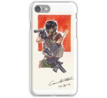 Espionage Girl iPhone Case/Skin