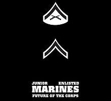 USMC E1-E3 Junior Enlisted by Sinubis