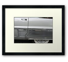 Stainless Skirt Framed Print