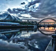 River Tyne HDR by Philip  Whittaker