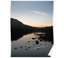 Bulls Island Sun Set Poster