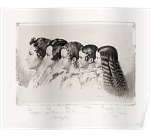 Ludwig Emil Grimm Lotte Hasenpflugs vier Kinder und Ideke Poster
