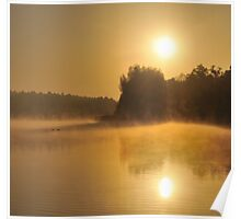 Golden Sunrise Poster