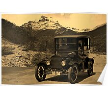 1921 Ford Model T Poster
