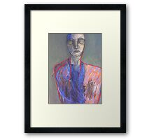 The Safety is Really Inside Framed Print