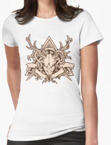 - Dead deer - Womens Fitted T-Shirt