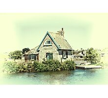 Lock Keepers Cottage Photographic Print