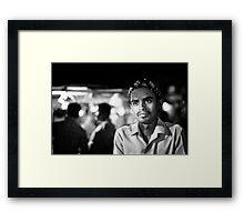 Street portrait Framed Print