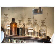 Medicine Bottles Poster