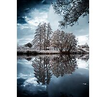 Infrared Lake Photographic Print