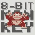 Donkey Kong - 8-Bit Monkey by TGIGreeny