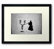 Dna Fight Framed Print