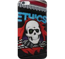 Ethics Skull-Urban Art Case! iPhone Case/Skin