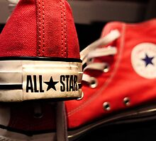 Converse all stars by Zoe Toseland