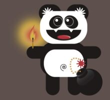 PANDA 4  (Cute pet has a bomb and its alight!) by peter chebatte