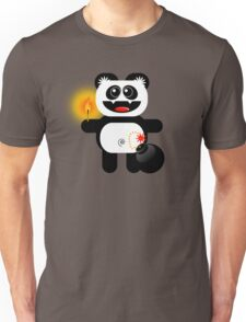PANDA 4  (Cute pet has a bomb and its alight!) Unisex T-Shirt
