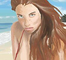 Amit Freidman Model painting by komaro