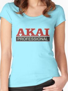 Akai Professional Women's Fitted Scoop T-Shirt