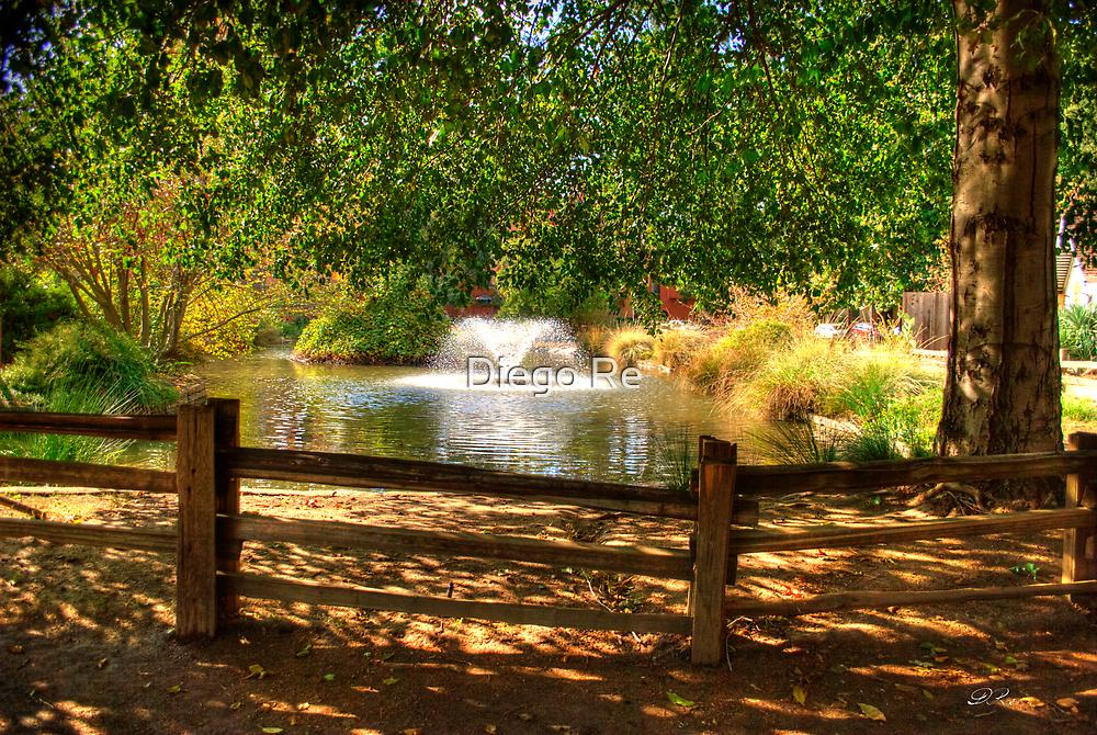 Sutter Fort Garden by Diego  Re