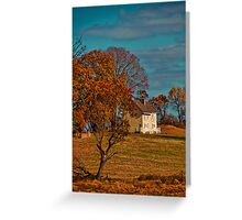 USA. Pennsylvania. Kennett Square. Colors of Fall. Greeting Card