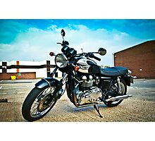 2005 Triumph Bonneville T100 Photographic Print