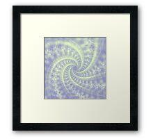 Contrail Spiral Framed Print