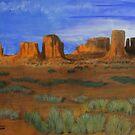 Monument Valley  by Heberto   G. Cavazoz
