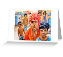 India Rising -- Prince of Thieves Greeting Card