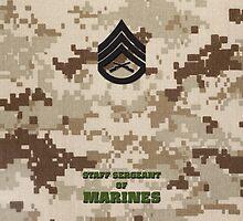 USMC E6 SSgt Desert by Sinubis