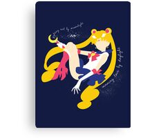 She's the one named Sailor Moon Canvas Print