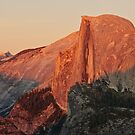 Half Dome Sunset by Nolan Nitschke