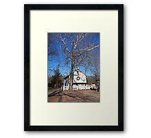 Landis stable Framed Print