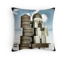 Swansea Observatory Throw Pillow