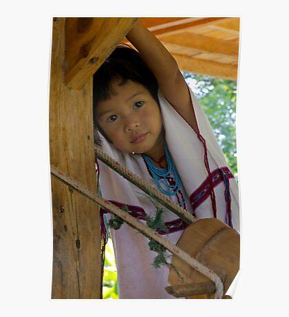 Karen child, Chiang Mai Poster