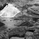 Cunningham Falls B&W by elasita