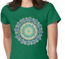 Midnight Bloom Womens Fitted T-Shirt
