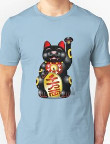 Money Cat Black T-Shirt