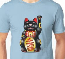Money Cat Black Unisex T-Shirt
