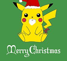 Christmas Pika ( Greeting Card & Postcard ) by PopCultFanatics