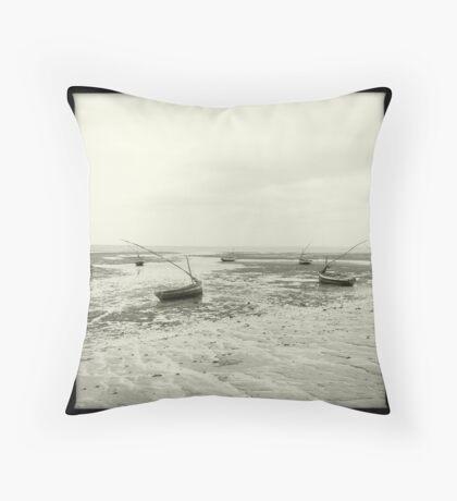 Maputo Beach Throw Pillow