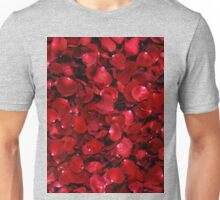 Red Rose Petals Unisex T-Shirt