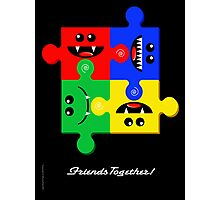 FRIENDS TOGETHER Photographic Print