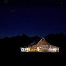 Thomas Moulton Barn Illuminated by Rick Louie