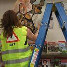 WARNING - ART by Soxy Fleming