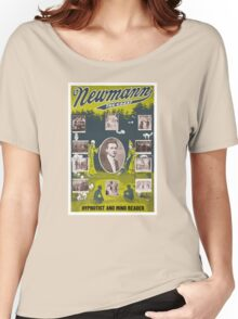 Newmann the Great - 1916 Vintage Poster Restored Women's Relaxed Fit T-Shirt